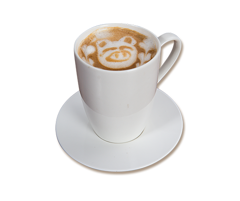 ZubuChon cappuccino