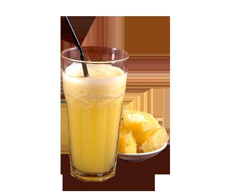 ZubuChon pineapple mint shake
