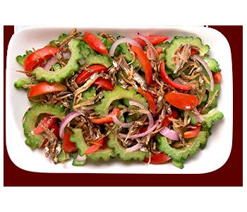 ZubuChon Ampalaya Salad with Dilis