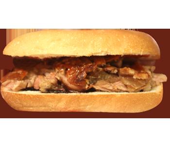Boneless Lechon Sandwich