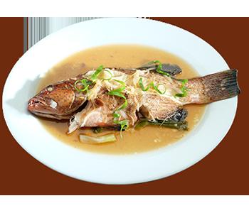 ZubuChon Steamed Fish