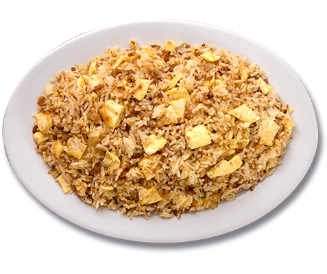 ZubuChon chorizo and egg fried rice